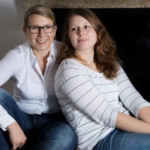 Die klugen Strewe-Frauen: Dr. Uta Strewe und Tochter Hannah aus Burkau engagieren sich. Das verbindet.